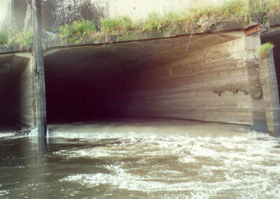 Studies of the stormwater-sewage system