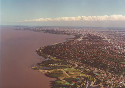 Master plan for the coastal edge of the city of Buenos Aires