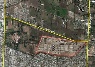 Drainage basin adjacent to liceo neighborhood – Córdoba